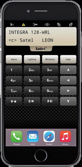 controllo remoto del sistema tramite app dedicata.